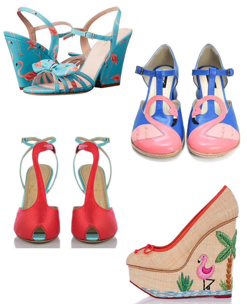 flamingo shoes 1