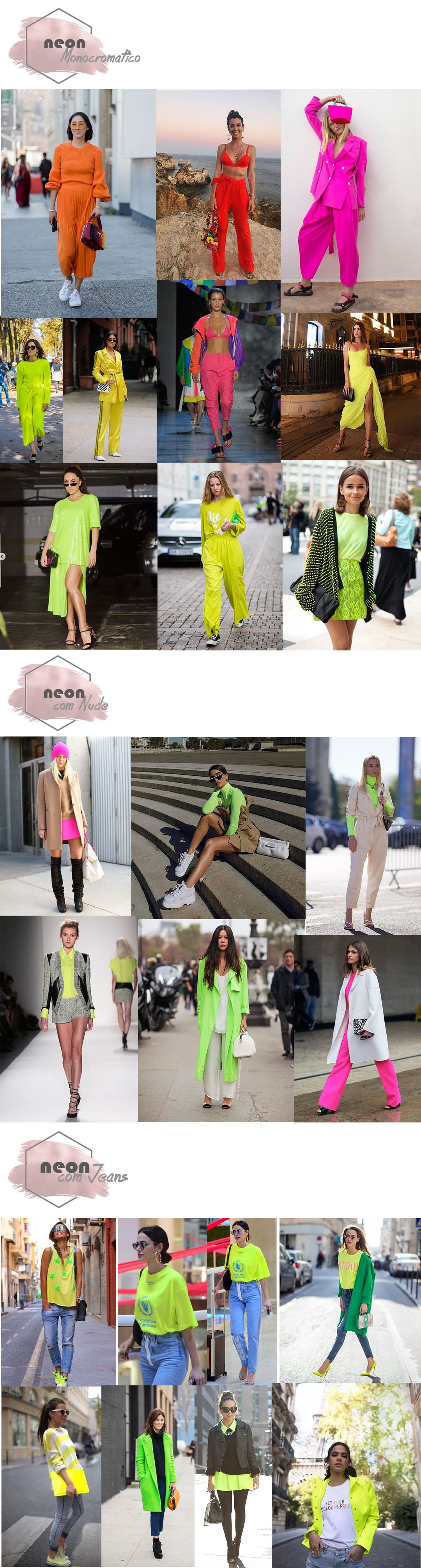 cdc89ce270 Alerta Neon  Trend é aposta para 2019 – Daiana Dick – Lifestyle